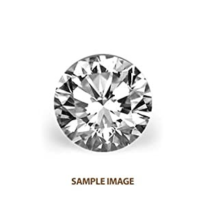 3.99 ct Round Natural Loose GIA Certified Diamond F, SI1