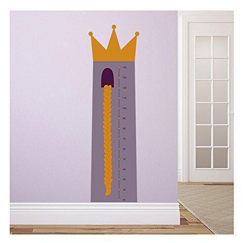 wandmotiv messlatte rapunzel 50 x 175 cm wandbild f r wand und tapete wohnung oder. Black Bedroom Furniture Sets. Home Design Ideas