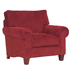 red accent chairs on Amazon Com  Broyhill Chandler Red Accent Chair   6468 0q1 Fabric 7665