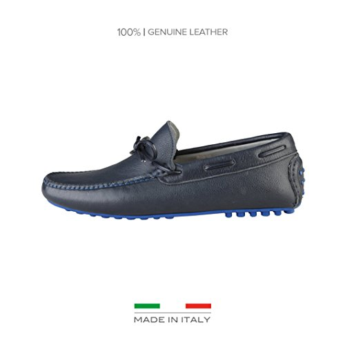 Made in Italia, Mocassini uomo, blu (Blau), 43 EU