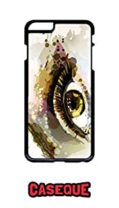 Caseque Eye Art Back Shell Case Cover for Apple iPhone 6 Plus