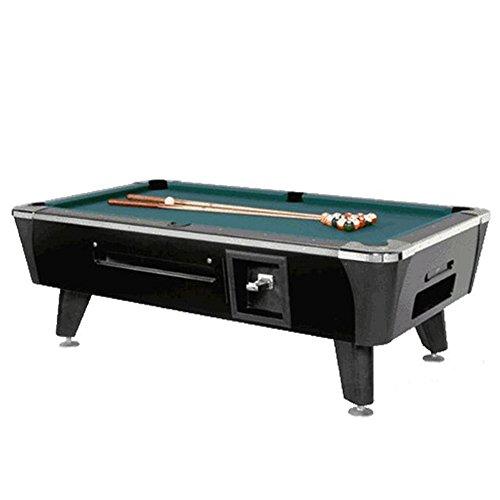 Dynamo Black Sedona Coin Operated 7' Pool Table (Dynamo Coin Operated Pool Table compare prices)