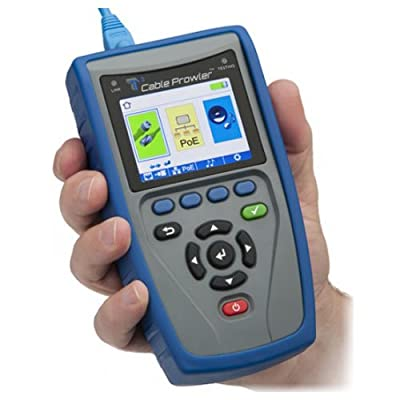 Platinum Tools TCB300 Cable Prowler Tester with Quick Start Guide and Warranty Card