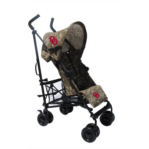 University Of Oklahoma Camouflage Umbrella Stroller front-913701