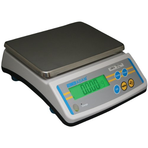 Adam Equipment LBK 65a Compact Bench Scale With 65lb/30kg Capacity And 0.01lb/5g Readability