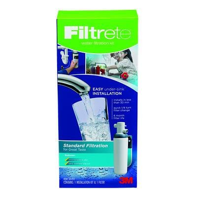 Best Price Filtrete Under-Sink Standard Water Filtration System (3US-AS01)