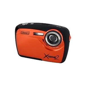 Coleman C12wpo Orange Camera Waterproof Xtreme2 16 Megapixels (COLEMAN-OUTDOOR C12WPO)