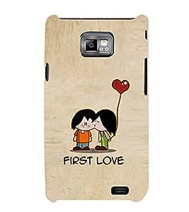 EPICCASE cute love Mobile Back Case Cover For Samsung Galaxy S2 (Designer Case)