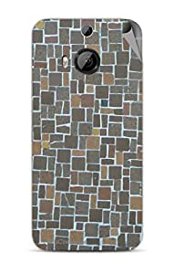 Miicreations Mobile Skin Sticker For HTC One M9 Plus,Pattern