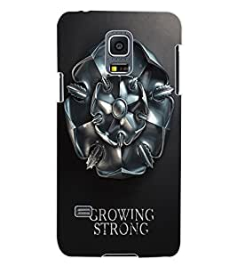 ColourCraft Warrior Symbol Design Back Case Cover for SAMSUNG GALAXY S5 MINI