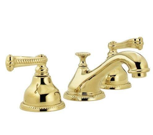 Pegasus FW0B8204PBV 5000 Series Widespread Lavatory Faucet, Polished Brass