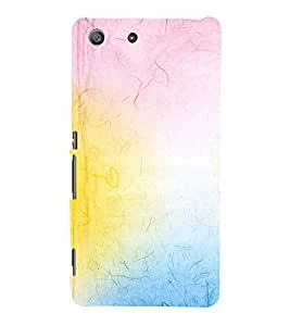 EPICCASE rainbow colors Mobile Back Case Cover For Sony Xperia M5 (Designer Case)