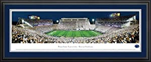 Pennsylvania State Nittany Lions - Beaver Stadium - Framed Poster Print by Laminated Visuals