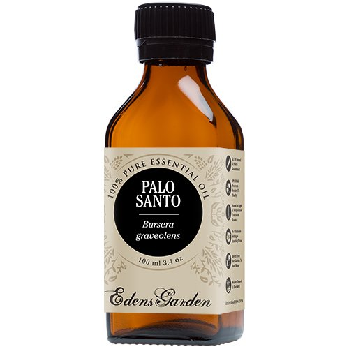 Palo Santo 100% Pure Therapeutic Grade Essential Oil by Edens Garden- 100 ml