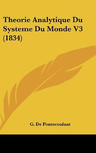 Theorie Analytique Du Systeme Du Monde V3 (1834)