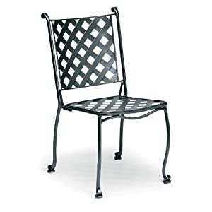 Maddox Stacking Bistro Side Chair Finish: Espresso