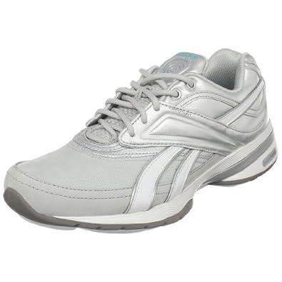 Reebok Women's Easytone Reeinspire Lux Walking Shoe,Steel/Pure Silver/White/Glacier Blue,11 M US