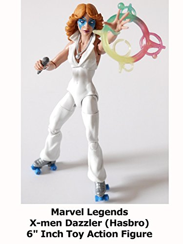 "Review: Marvel Legends X-men Dazzler (Hasbro) 6"" Inch Toy Action Figure"