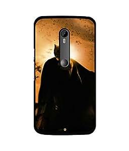 Crazymonk Premium Digital Printed Back Cover For Moto X Play