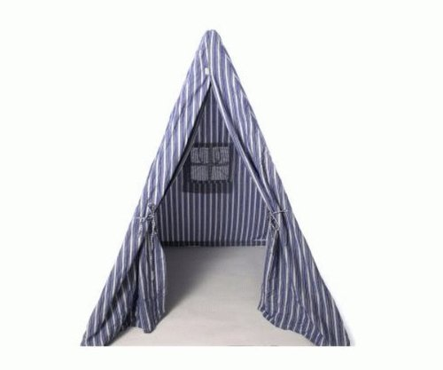 Win Kinder Grün Play Wigwam, marineblau gestreift
