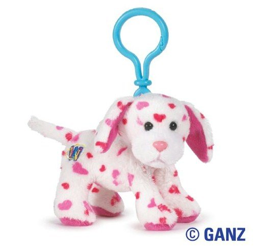 Webkinz Virtual Pet Plush - Kinz Klip - LOVE PUPPY