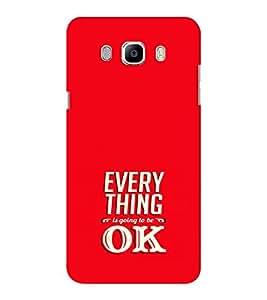 EPICCASE Will be ok Mobile Back Case Cover For Samsung J5 2016 (Designer Case)