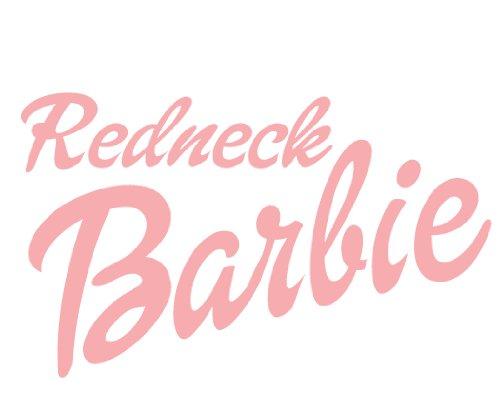 Redneck Barbie PINK (8-3/4