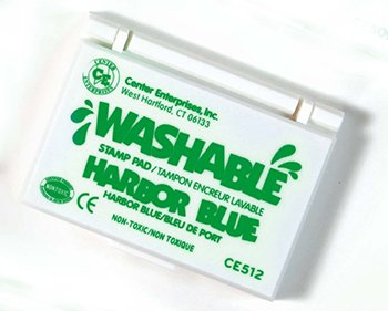 14 Pack CENTER ENTERPRISES INC. STAMP PAD WASHABLE GREEN