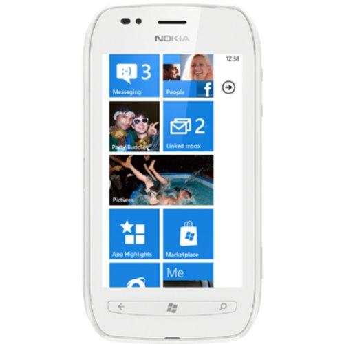 o2 Nokia Lumia 710 white sim-free,