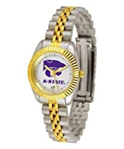 Kansas State Wildcats KSU NCAA Womens 23Kt Gold Watch