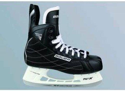 BAUER SPORTS GMBH Nexus Speed TI Eishockey-Schlittschuhe Herren, schwarz