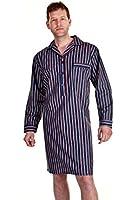 Haigman Nouvelle Chemise de Nuit en Coton Popeline Homme 7391