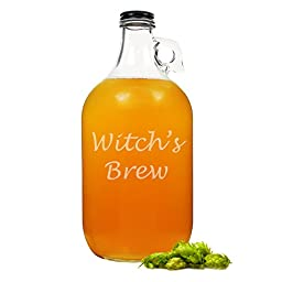 Cathy\'s Concepts Witch\'s Brew Glass Growler