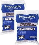 panasonic type c 13 bags amc s5ep genuine 10 pack