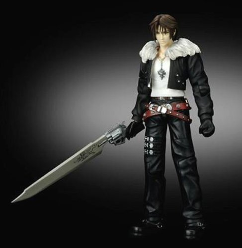 FINAL FANTASY VIII PLAY ARTS Squall Leonhart (PVC painted action figure) (Squall Leonhart Action Figure compare prices)