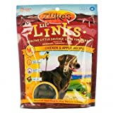 Zukes Dog Treats - Lil Links Chicken And Apple - 6 Oz - Case Of 12