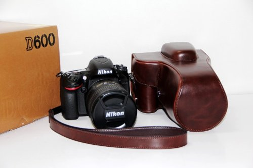 Mennon Humidity Protection Medium Lens Case for Nikon F Lens with Desiccant//Silica Gel