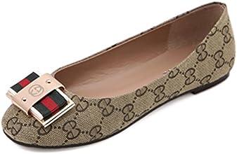 Bowknot Is Flat Leisure Women Shoes