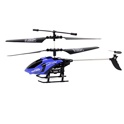 YOOYOO 3.5CH 6-Axis Gyro RTF Infrared Control Helicopter Drone Toy (Deep Blue) (4 Ch Copter Micro Series compare prices)