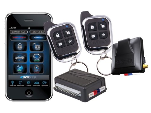 Scytek Mobilink 777 2-Way Car Alarm Vehicle Security System With Roid, Iphone And Blackberry Integration