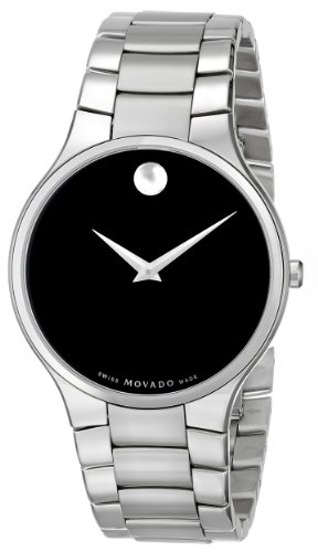 "Movado Men's 0606382 ""Serio"" Stainless-Steel Dress Watch"