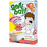Gelli Baff das magische Badepulver das seine Farbe verändert (crazy oranges to Bizarre Green)