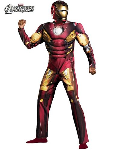 Disquise Men's Iron Man Mark 7 Avengers Class Costume