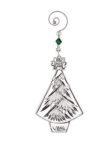 Waterford Crystal 2015 Annual Christmas Tree Ornament