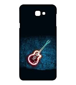 EPICCASE Sparkling Guitar Mobile Back Case Cover For Samsung Galaxy J7 Prime (Designer Case)