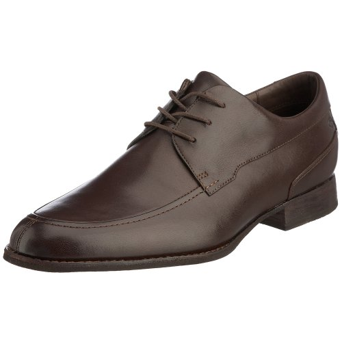 Rockport Men's Tanworth Oxford Dark Brown K52234 8.5 UK