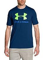 Under Armour Camiseta Manga Corta Cc Sportstyle Logo (Azul Oscuro)