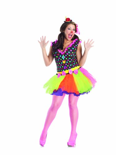 Party King Clowning Around Plus Size Women's Costume