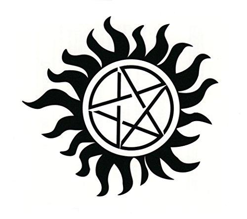 Supernatural Anti-Possession Tattoo - Set of Three