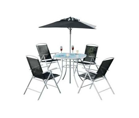 Brand New Atlantic nero patio Furniture set – 4 posti più conveniente su Amazon 116